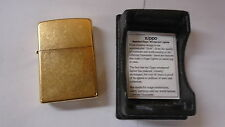 Zippo lighter 254B polish brass 5 barrel