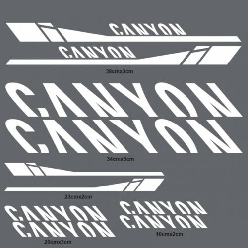 Frame Sticker for Canyon Road Bike Mountain Bicycle MTB  Race Cycling Decals