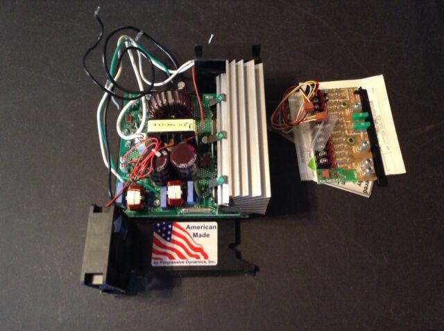 Progressive Dynamics 55 Amp Battery Converter Charger