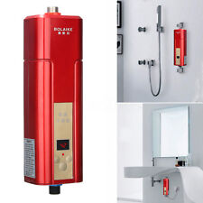 5500W BOLAIKE Instant Electric Tankless Water Heater Shower System Tap  Faucet