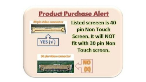 LAPTOP LCD SCREEN FOR AU OPTRONICS B173RW01 V.5 BOTTOM LEFT CONNECTOR 17.3