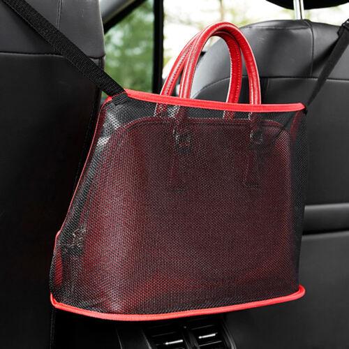 Car Net Pocket Handbag Holder Organizer Seat Side Storage Mesh Net Bag Goody