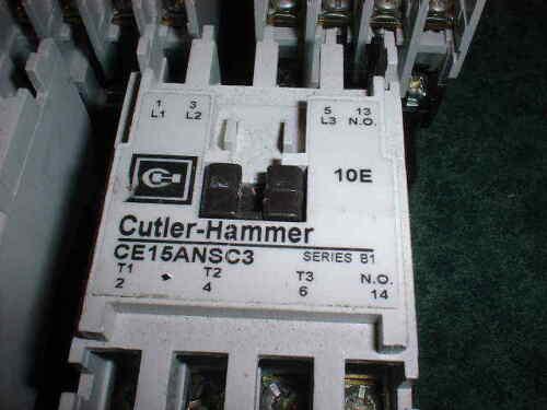 5 30036-E3 Cutler Hammer 4-Pole Contactor # CE15ANSC3