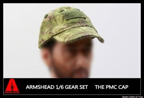 PMC Cap Set Baseball Cap Gear Set 1//6 Armshead Action Figure Accessory Set