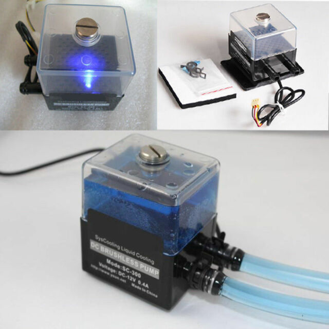 SC-300T 12V 4W ultra-quiet Water pump&pump tank for pc CPU Liquid Cooling System