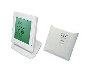 Wireless termostato programable para caldera de gas eléctrico agua