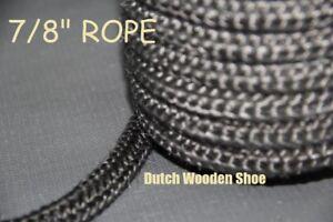 "7//8/"" Black  Gasket rope 8 Feet Outdoor Stove Pellet wood Stove Furnace Boiler."