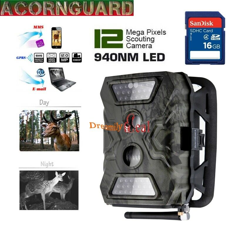 16G Hunting Camera AcornGuard AG-680M IR LED Trail Camera MMS  GPRS Game Scouting  there are more brands of high-quality goods
