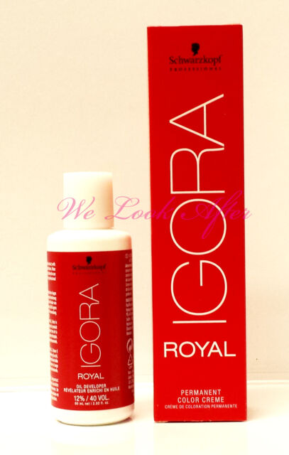 Schwarzkopf Professional IGORA ROYAL Specialities Highlifts Naturals + Developer