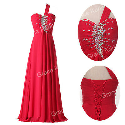 NEW Long Chiffon Evening Formal Bridesmaid Wedding Ball Gown Prom Party Dresses