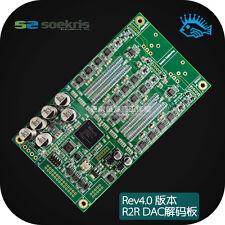 Rev4.0 Denmark Soekris dam1021 discrete 24 / 384K R2R DAC Audio Decoders Board