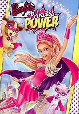 BARBIE IN PRINCESS POWER (DVD, 2015) NEW