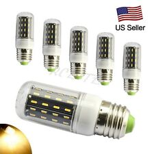 6Pack E27 6W SMD 4014 LED Lights LED Corn Lamp Bulb AC 110V Warm White Cornlight