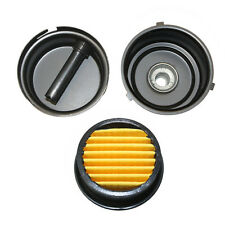 Compressor Air Intake Filter Rep 12 Mpt Paper Cartridge Metal Silencer Sa142