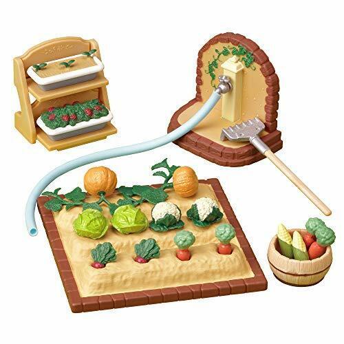 Sylvanian Families Calico Critters furniture vegetables building set K-616 JAPAN