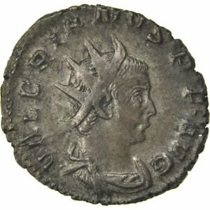 Cohen #6 40-45 Ef Valerian Ii #61528 2.90 Superior Materials Billon Antoninianus