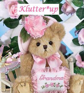 "Bearington Bear GREATEST GRANDMA 10"" Grandmother Doll #165103  NEW SPRING 2014.."