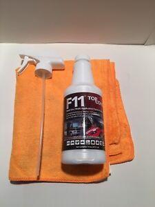 F11 TOPCOAT KIT MASTER CRAFTSMEN POLISH SEALER 16oz BOTTLE AND 1 TOWEL.