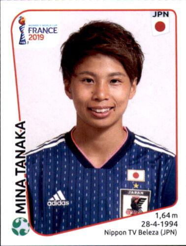 Panini Frauen WM 2019 Sticker 326 Mina Tanaka Japan