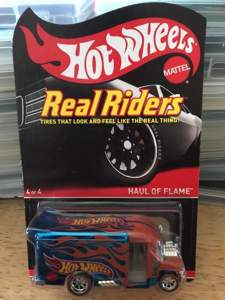 Hot Wheels RLC Haul Of Flame Real Riders series 13