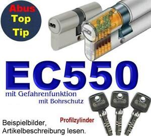 abus ec550 profilzylinder schlie zylinder 3 bis 10 schl ssel ebay. Black Bedroom Furniture Sets. Home Design Ideas