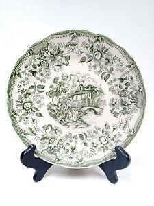 VTG rare Ironstone Tableware Underglaze 11-93 Dessert Plate ITALY Green White  sc 1 st  eBay & s-l300.jpg