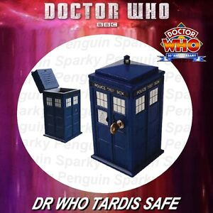 DOCTOR-WHO-ELECTRONIC-TARDIS-SAFE-OFFICIAL-BBC-MONEY-BOX-DR-POLICE-TELEPHONE