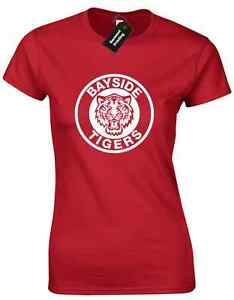 Bayside Tigers Ladies T Shirt Football Design Saved By The Bell