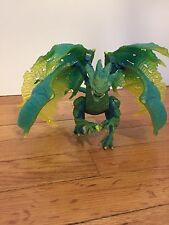 Mega Blocks Plasma Dragons Battlemorph Fangrene Acid Dragon 9409 RARE