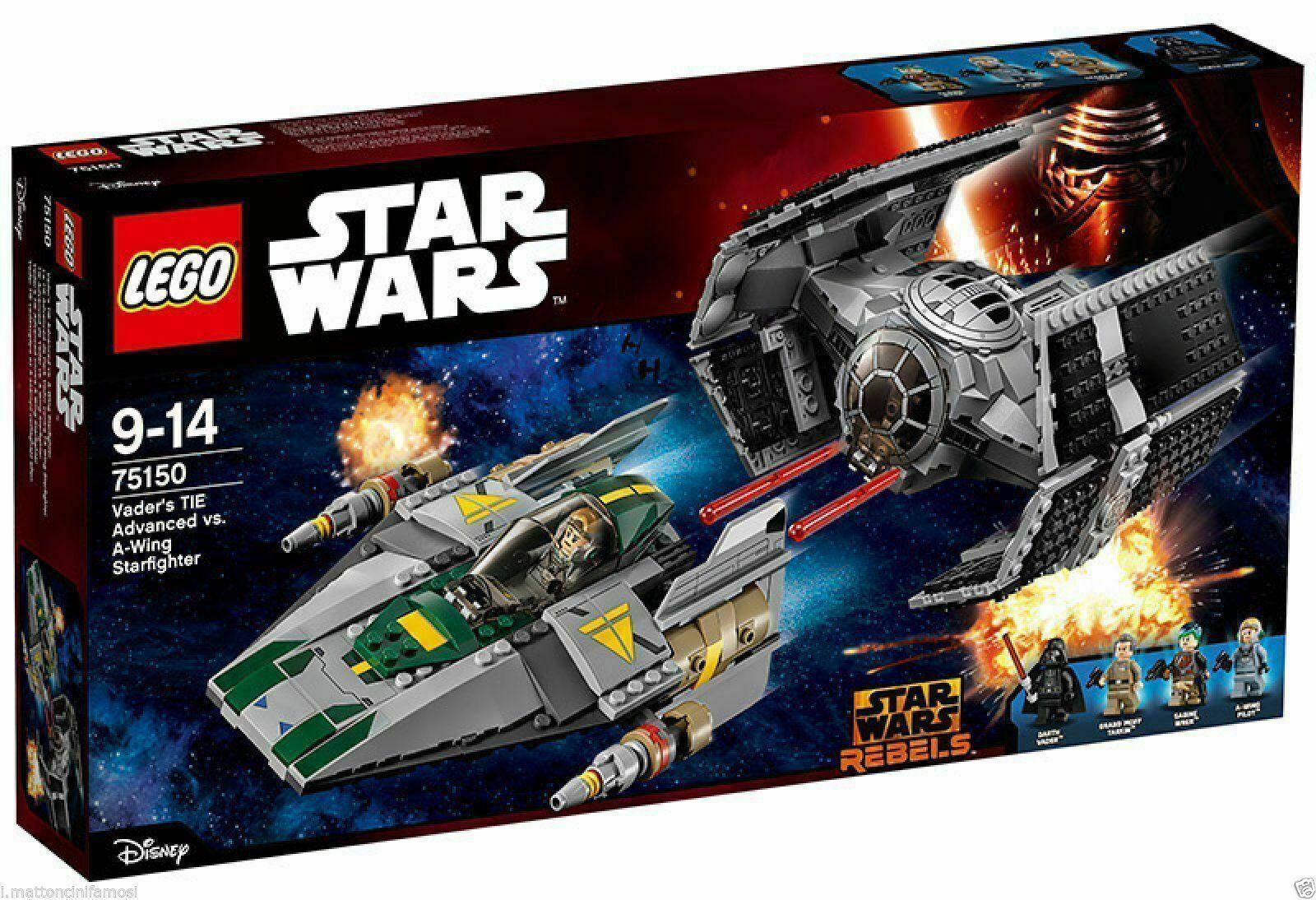 vendita outlet LEGO 75150 Tie Fight.Vader vs A-Wing A-Wing A-Wing estrella guerras GUERRE STELLARI  confortevole