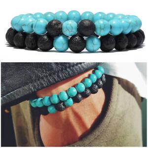 Bracciale-uomo-pietra-lavica-turchese-pietre-dure-braccialetto-da-SET-bracciali