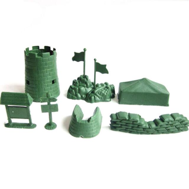 """ARMY//WAR Lego /""""U.S Army Sandbags/""""  NEW WWII green"""