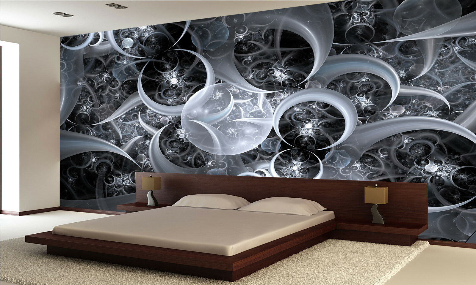 Modern Abstract I Wall Mural Photo Wallpaper GIANT WALL DECOR PAPER Free Glue