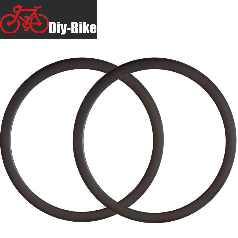 Rim Road Bike Bicycle Racing  Rims 700C 25mm width 38mm depth Carbon Clincher  outlet store