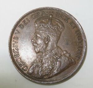 1917-CANADA-ONE-CENT-SUPERB-HIGH-GRADE-8-PEARLS-amp-FULL-CENTRE-CROWN