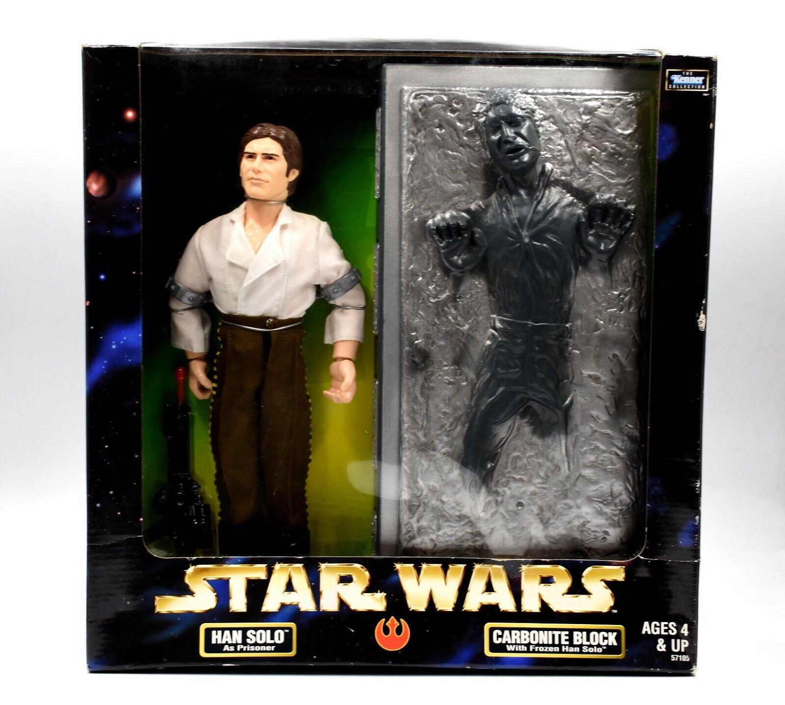 STAR Wars Collezione d'azione - 12  Han Solo come prigioniero & Carbonio... Set Di Blocco