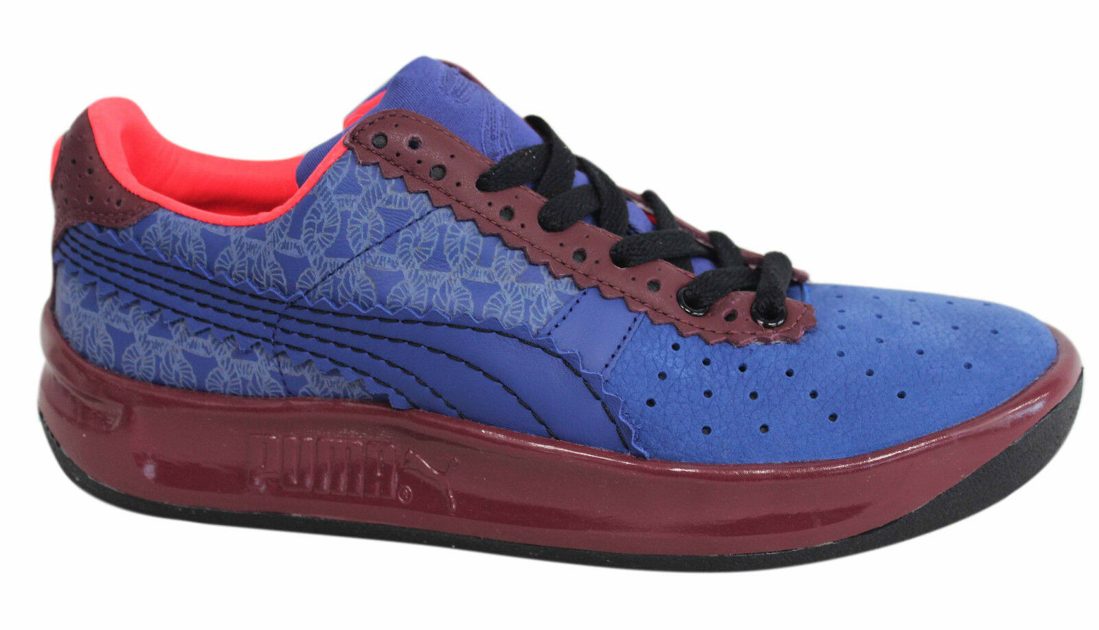 Puma GV Special X Sibling Ltd Edition Mens Navy Burgundy Trainers 358727 01 D21