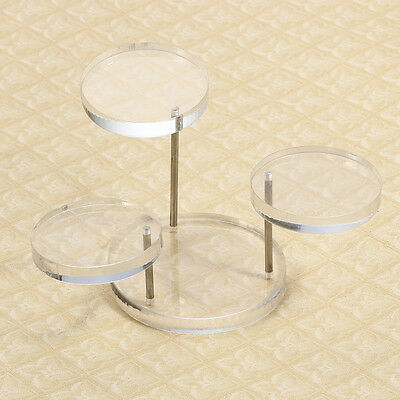 """Necklace Bracelet Round Table Holder Display Stand 2-3"""""""