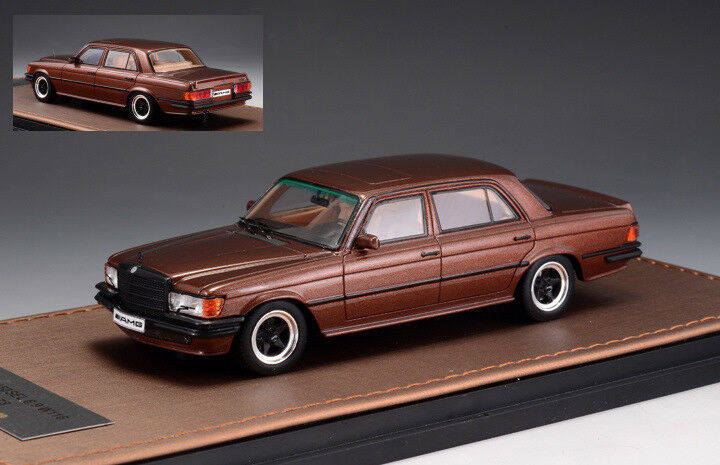 Mercedes Amg W116 1978 marron Metallic 1 43 Model GLM MODELS