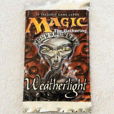 English Mirage Block Magic MTG: WEATHERLIGHT Sealed Booster Pack from Box