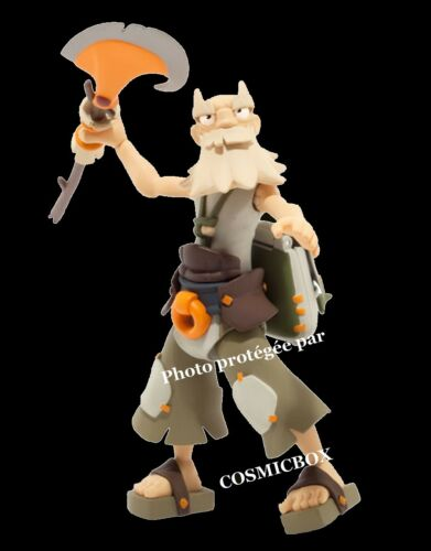 WAKFU figurine articulée RUEL razortemps DOFUS jeux Ankama dx 5 en boite NEUVE