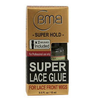 BMB Super Lace Glue Adhesive Strong Hold Front Wigs Toupes Hair Scalp 0.5 oz