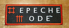 DEPECHE MODE  RARE VINTAGE PATCH EMBROIDED LIVE DISCONTINUE