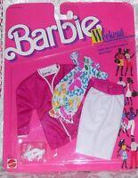 Mattel Barbie Weekend Clothes Set 1527 1988 Nip