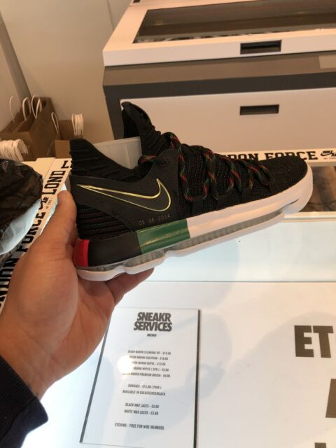 hot sale online ca382 835fb Nike Zoom Kd10 BHM Ltd Edition UK 11 Kevin Durant NBA