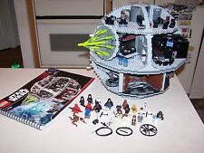 Lego 10188 Death Star Star Wars 100% Complete With Instructions Sticker Sheet