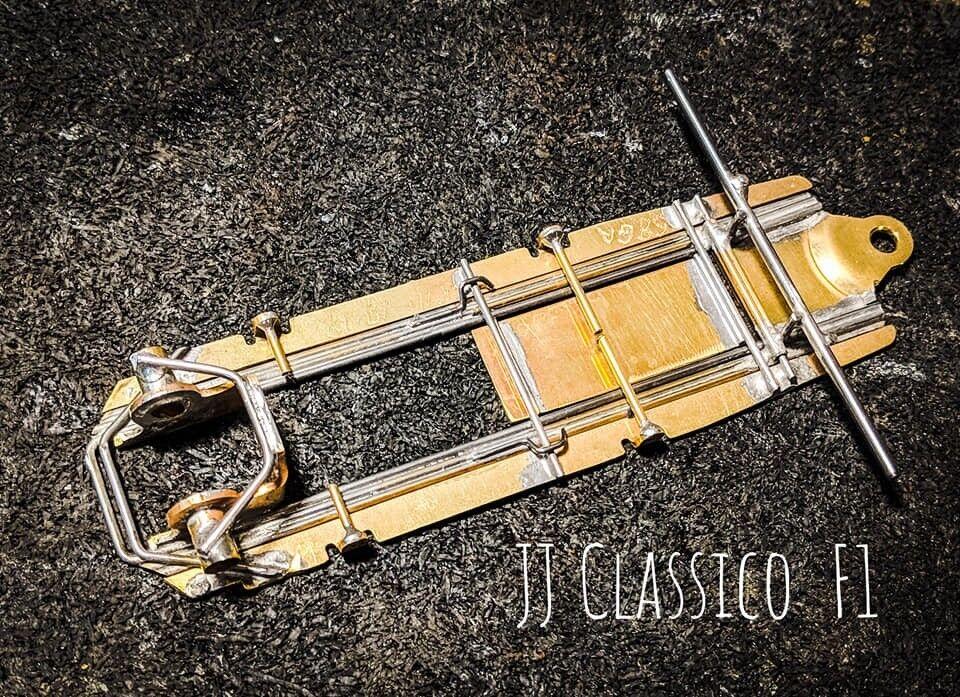 Rétro Irra formule 1 slot car Châssis  classico  Construit par Jersey John