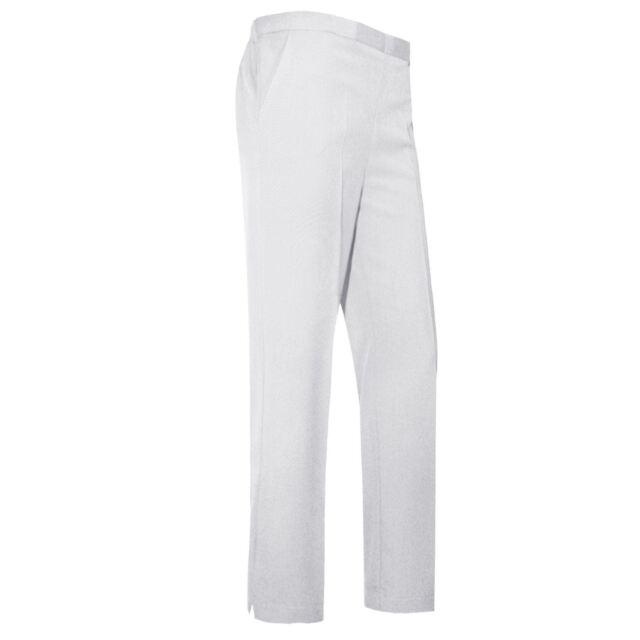 c7d23101d Ladies Women Classic Trousers Pants Girls School Uniform Office Elastic  Bottoms White 10 Short for sale online   eBay