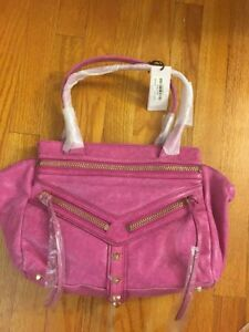 Image Is Loading New Botkier Pink Fuschia Leather Purse Handbag Legacy