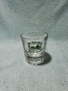 RARE McGuires Original Cream Liqueur Promotional Rocks Glass 4 OZ Excellent Cond
